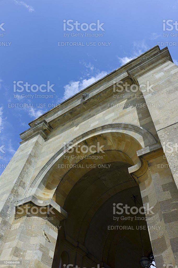 Blenheim Palace stock photo