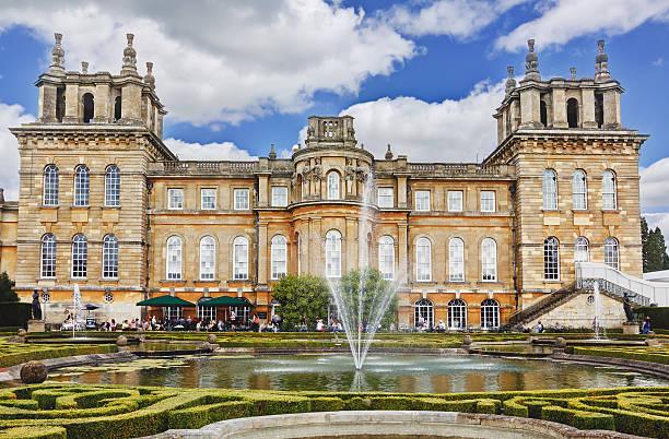 Blenheim Palace, Woodstock, Oxfordshire, England, United Kingdom. stock photo