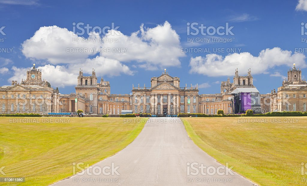 Blenheim Palace, Woodstock, Oxfordshire, England, United Kingdom. stock photo