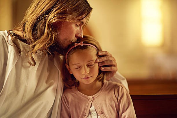 Blessed are the pure of heart - foto stock
