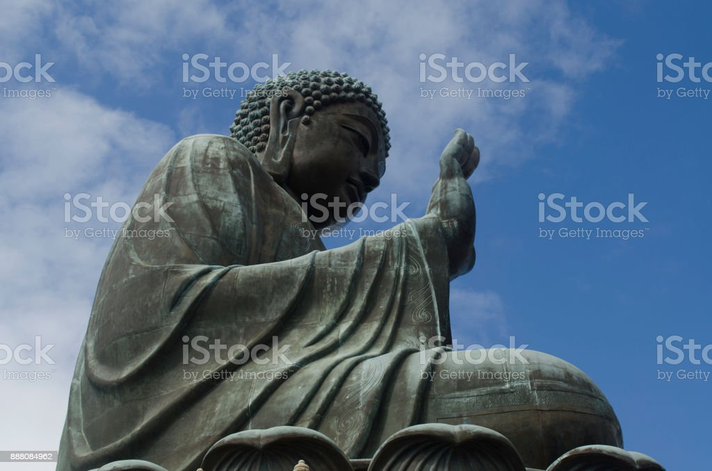 Blessing Duddha stock photo