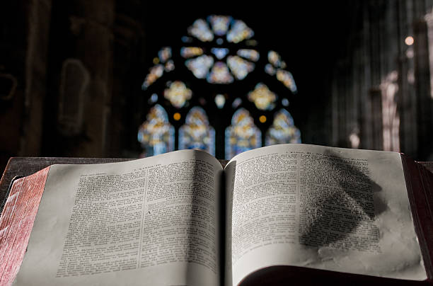 Blessing in the Church (Horizontal)  pulpit stock pictures, royalty-free photos & images