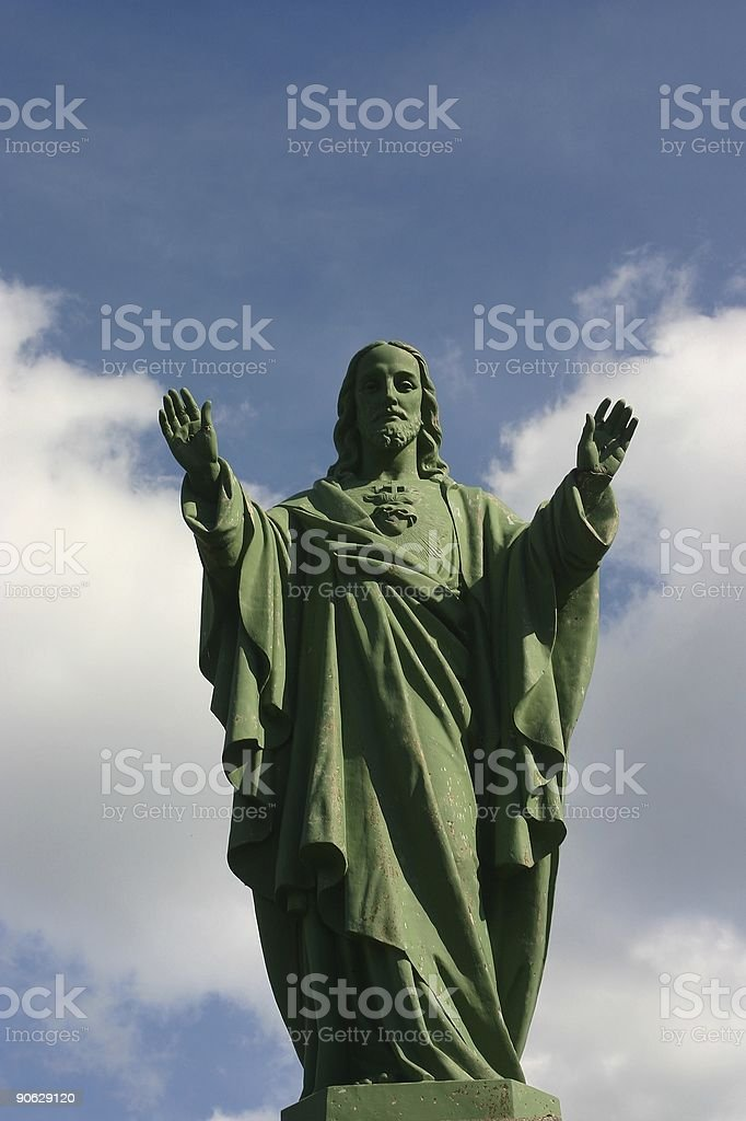 Blessing of jesus royalty-free stock photo