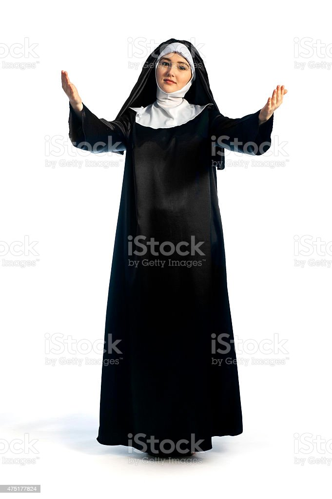 blessing pose stock photo