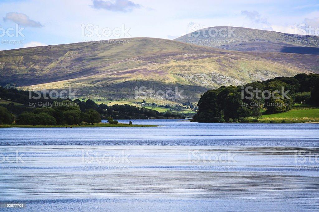 Blessington Lake, Ireland stock photo