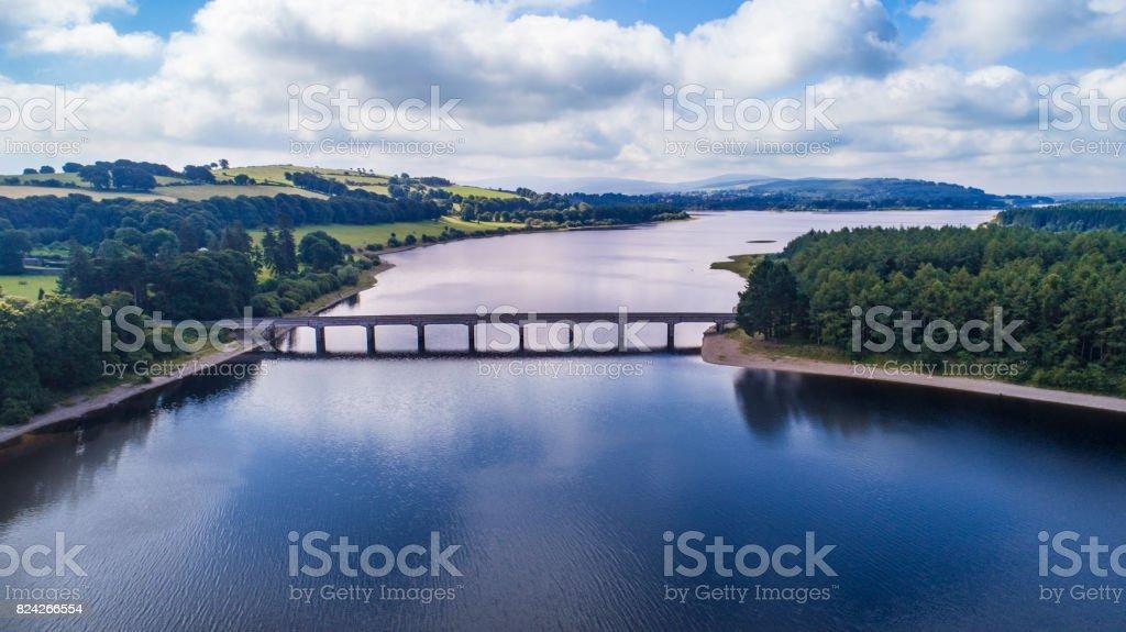 Blessington Lake near Wicklow stock photo