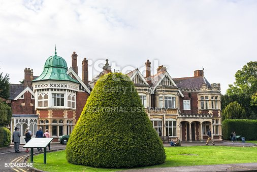857874170 istock photo Bletchley Park Mansion 872453246