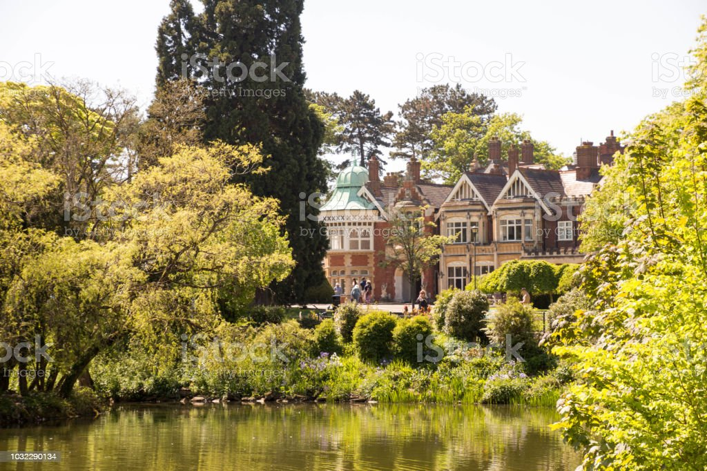 Bletchley Park stock photo