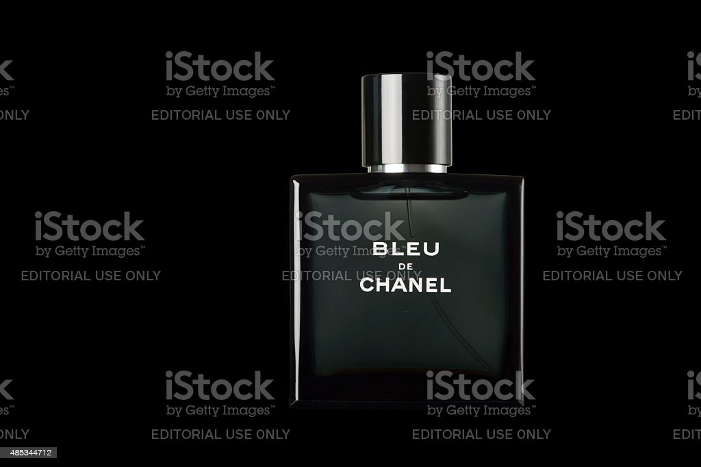 Bleu de Chanel Fragrance for Men stock photo