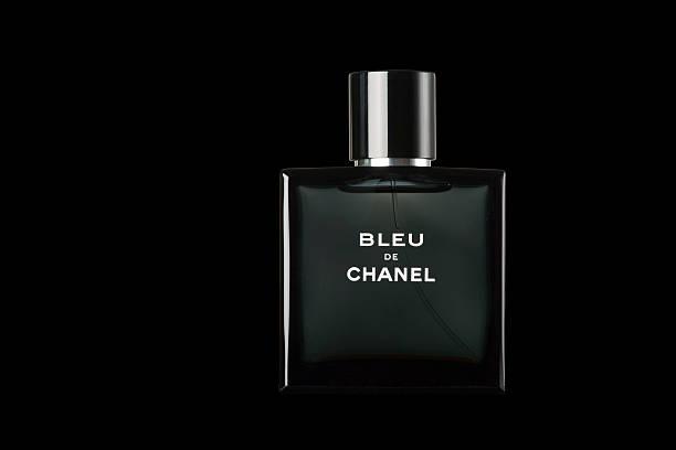 Bleu de Chanel Fragrance for Men stock photo