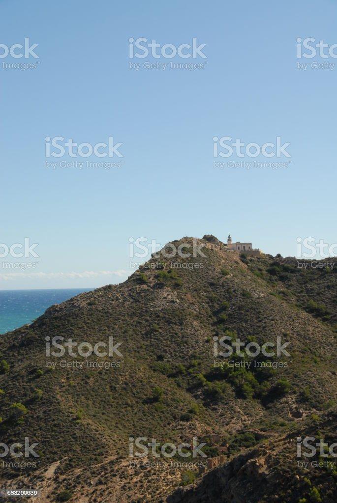 Blick auf das Mittelmeer - Albir - Costa Blanca - Spanien 免版稅 stock photo