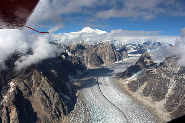 Blick auf  Mount Denali – Foto