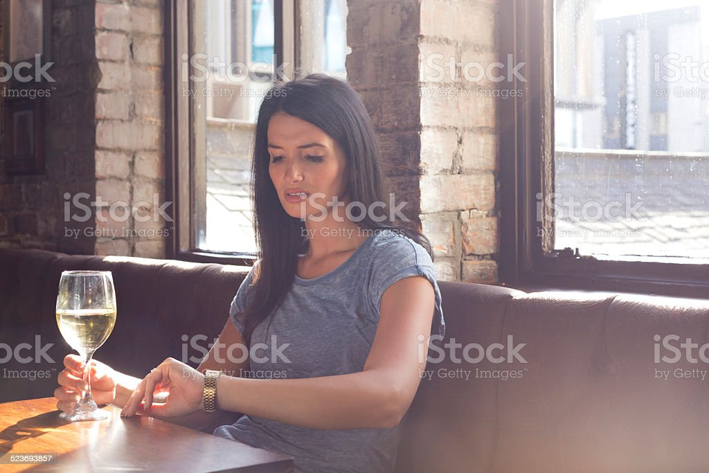 Blind Date stock photo