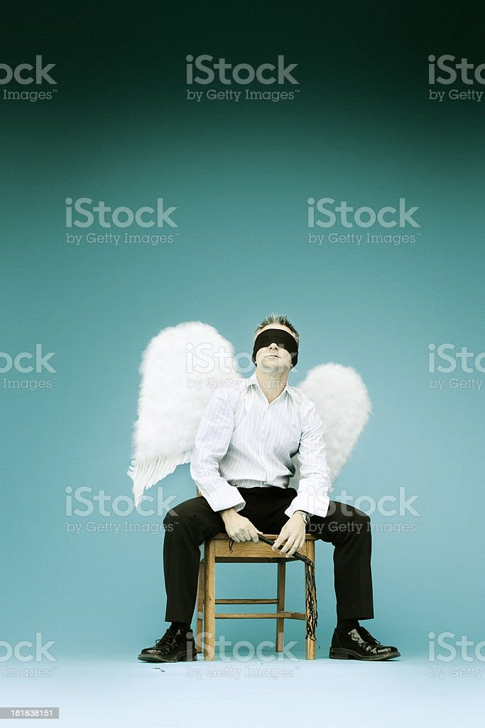Blind Faith stock photo