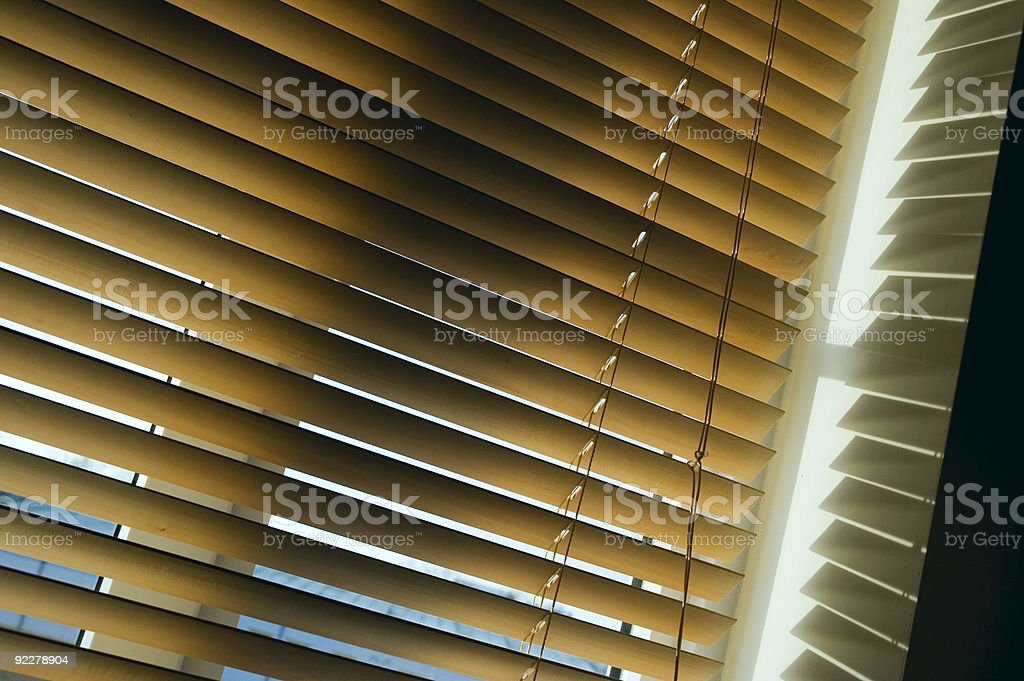 Blind lines royalty-free stock photo