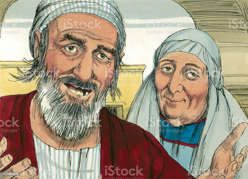 Blind Mans Parents Stock Photo - Download Image Now - iStock
