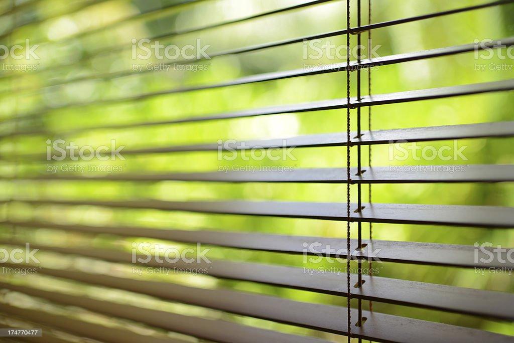 Blind Window stock photo