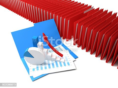 istock Blinder and Graph 502086873
