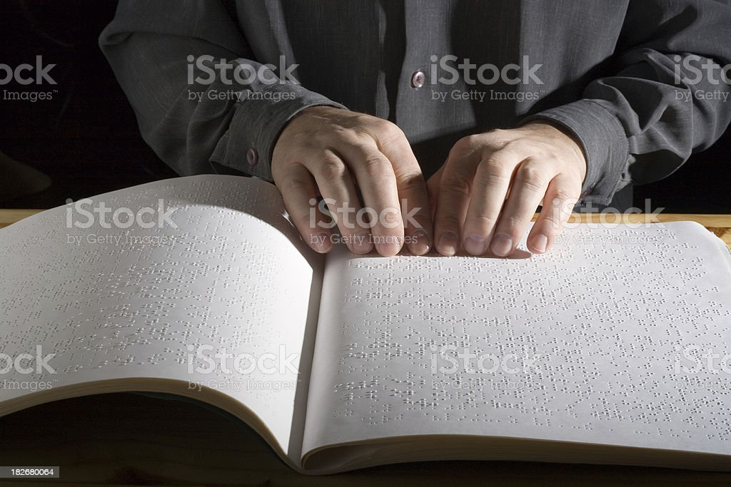 Blindness royalty-free stock photo