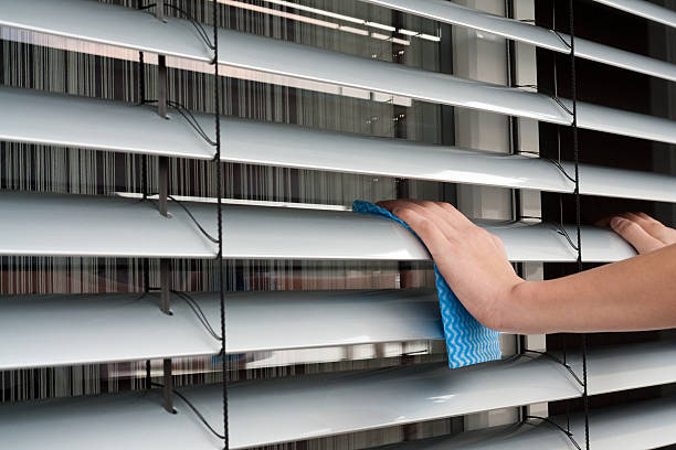 blinds cleaning - blinds stock pictures, royalty-free photos & images