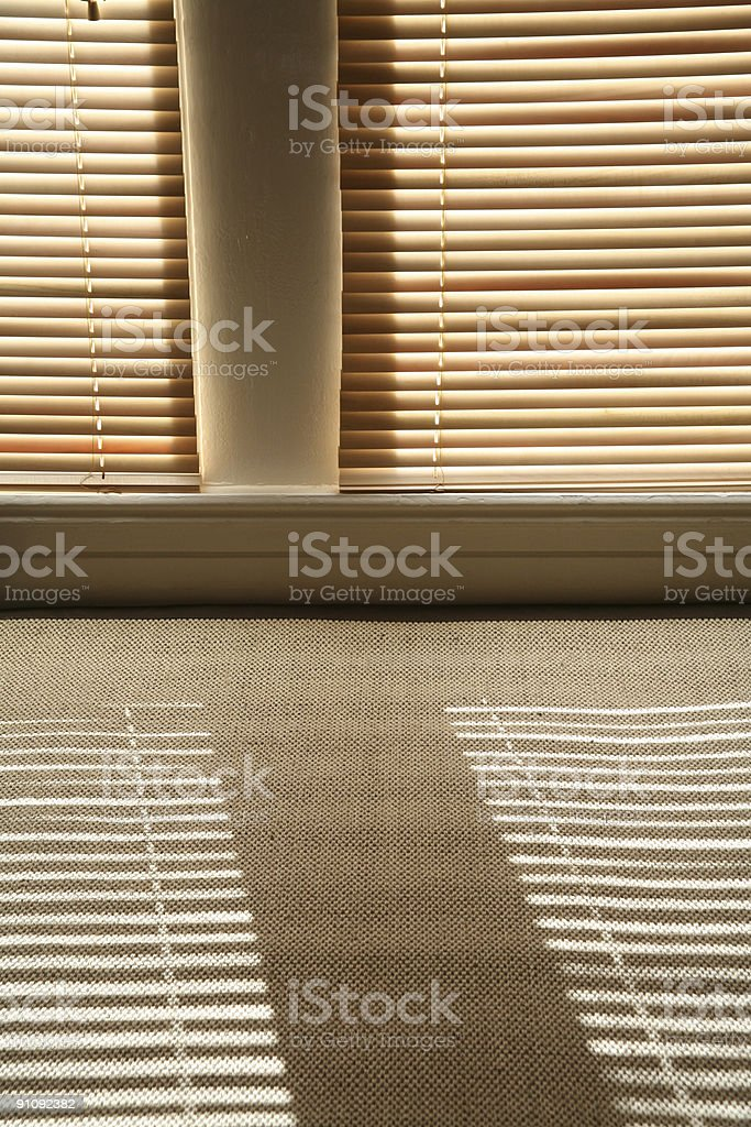 Blinds royalty-free stock photo