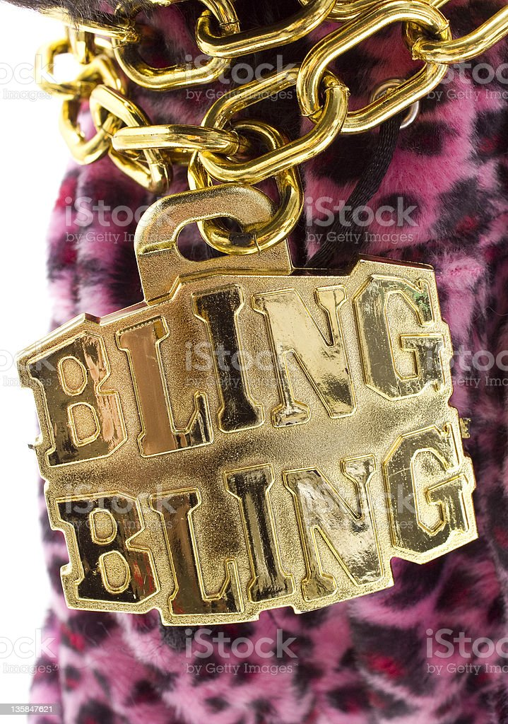 Bling Necklace stock photo