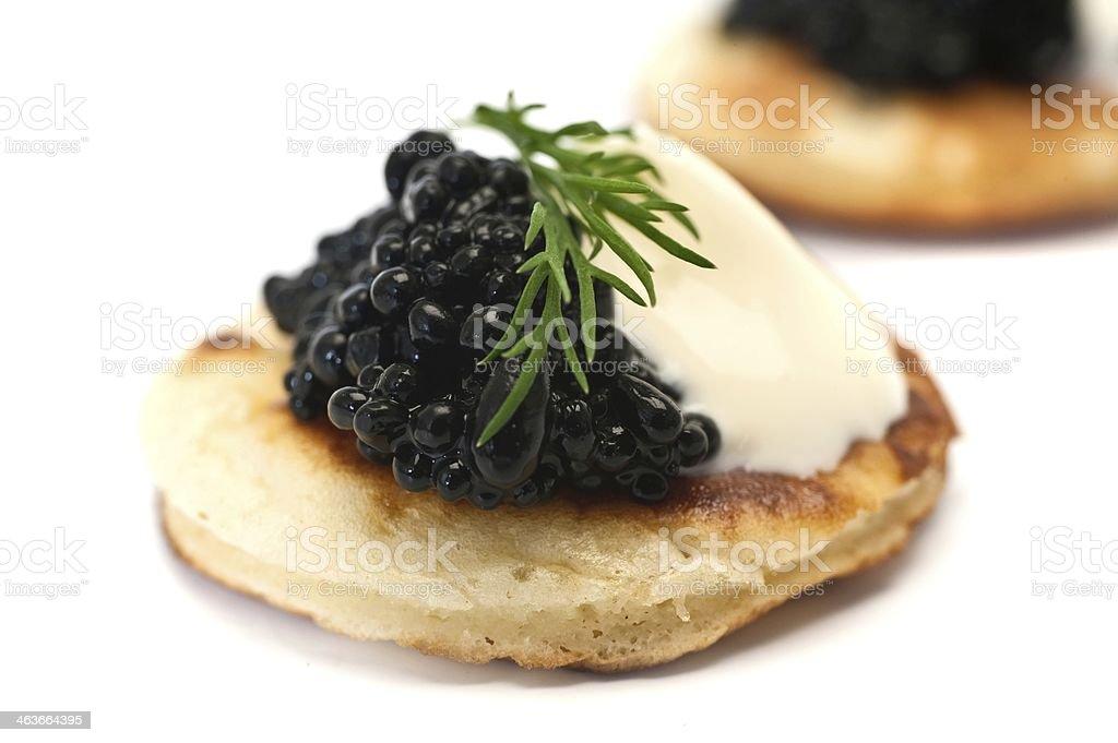 Blinis au Caviar - Photo