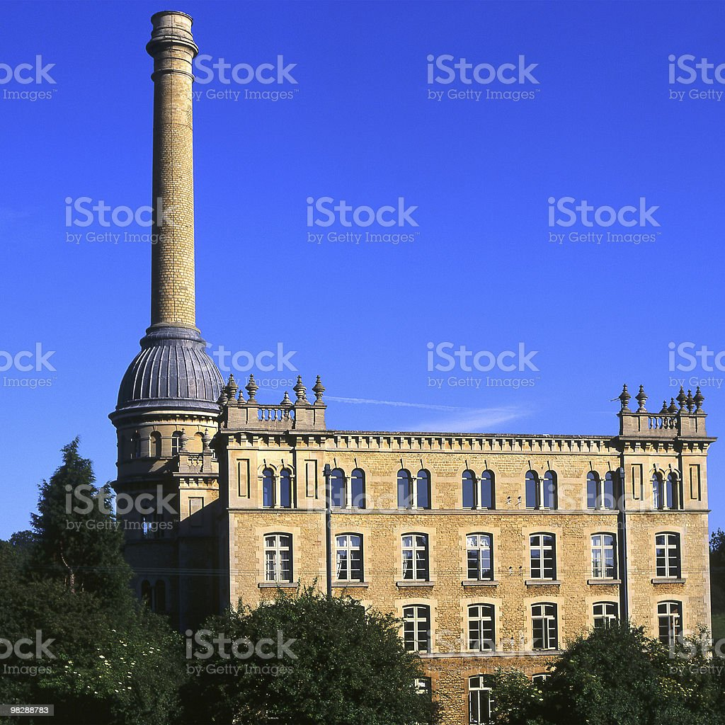 Bliss Mill at Chipping Norton in Oxfordshire. England royalty-free stock photo