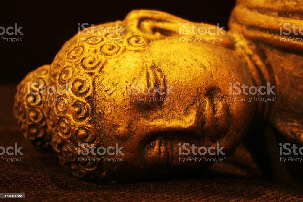 Blissful Buddha v3 royalty-free stock photo