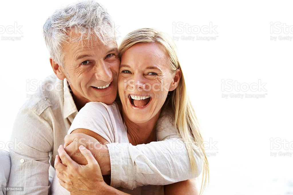 Blissfully in love royalty-free stock photo