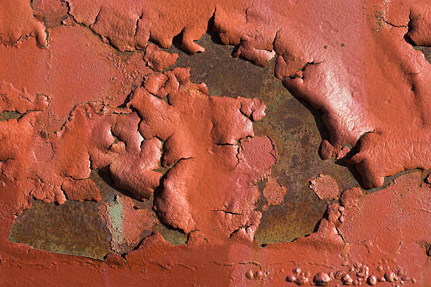 blistered paint - lead stock photos and pictures