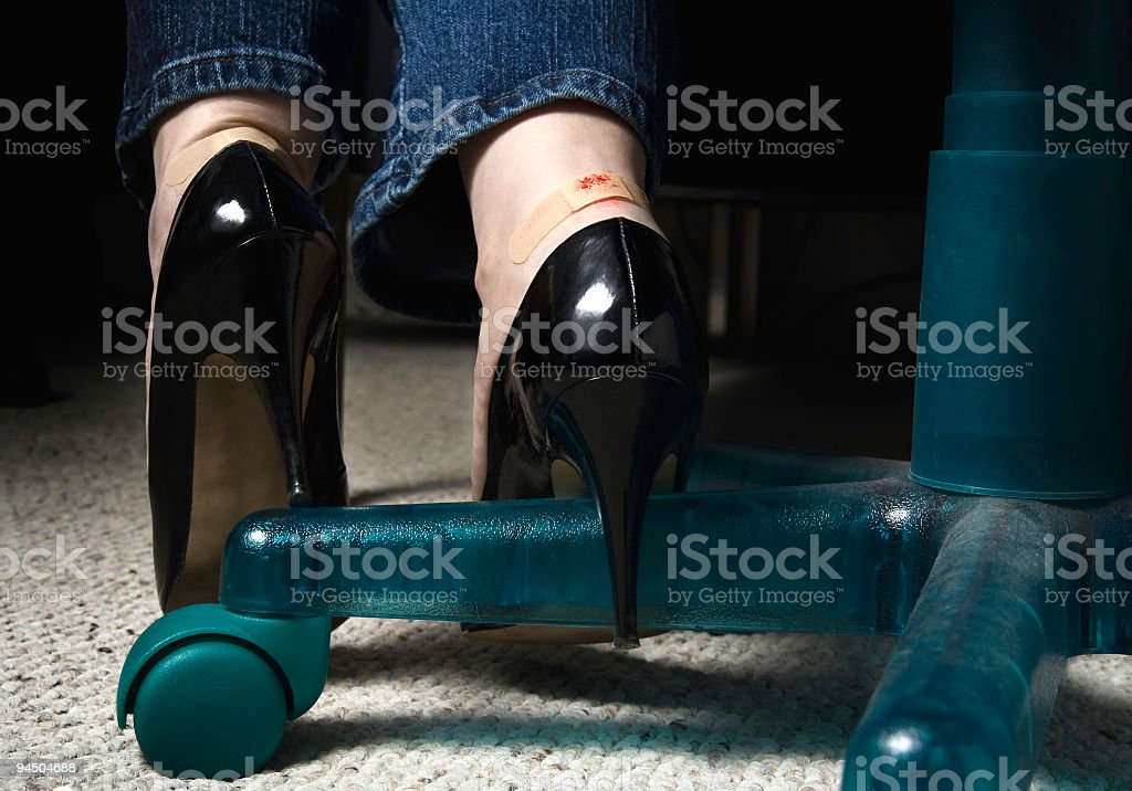 Blisters stock photo