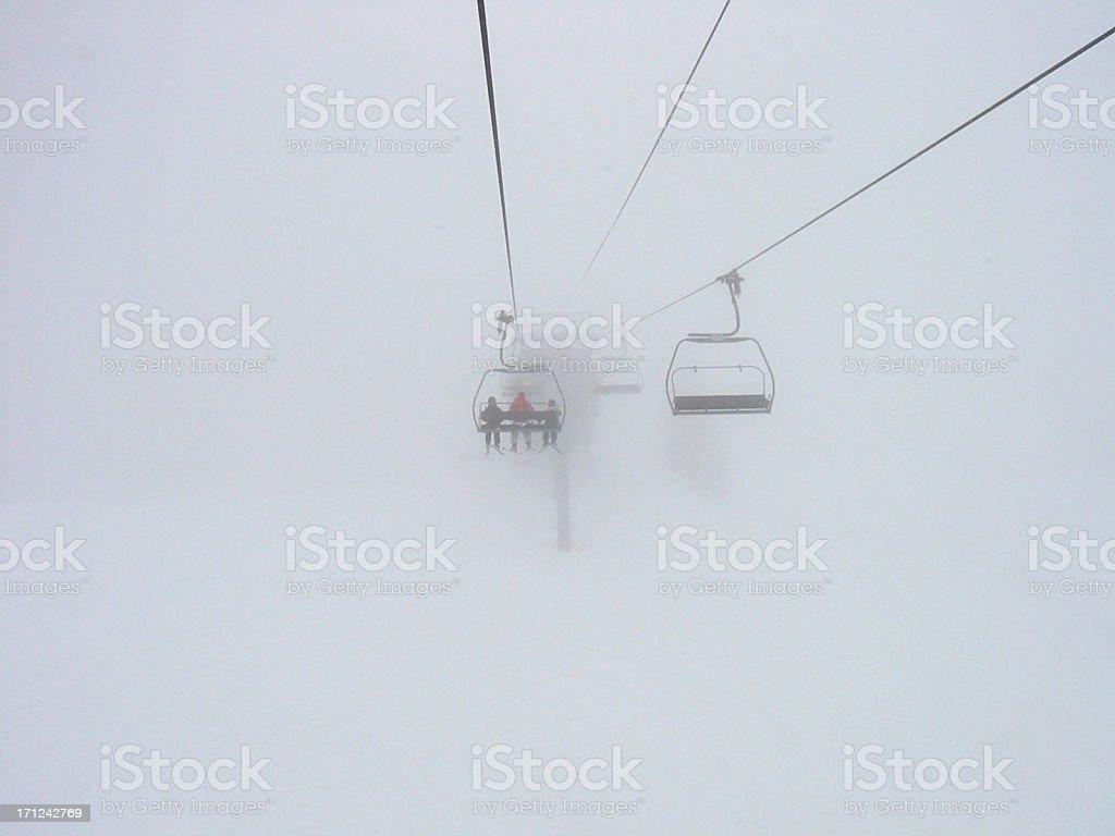 blizzard royalty-free stock photo