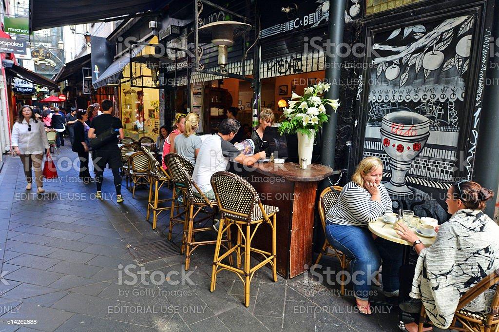Block Arcade - Melbourne stock photo