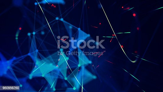 istock Block Chain Network Background Concept 950956250