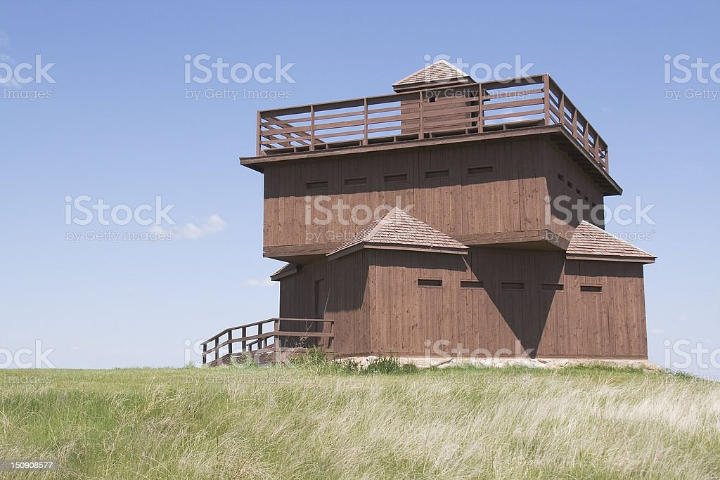 Block House stock photo