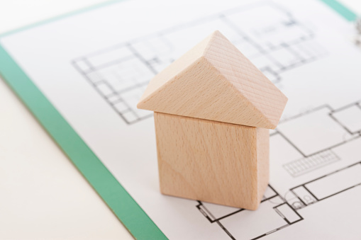 Block House Stock Photo - Download Image Now