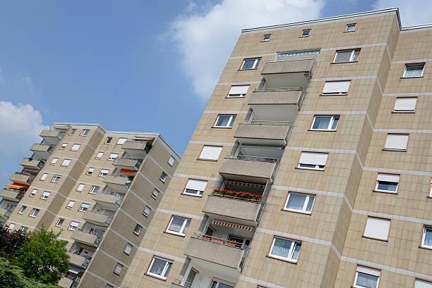 Block von flats – Foto