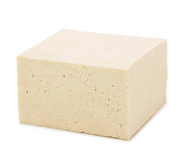 block of tofu - tofoe stockfoto's en -beelden