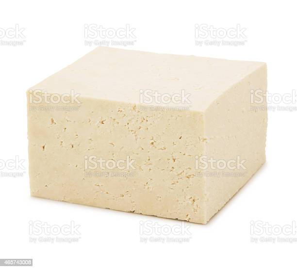 Block Of Tofu Stockfoto en meer beelden van 2015