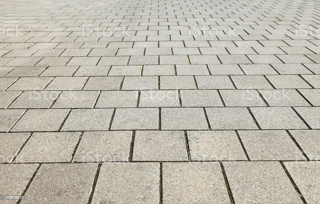 Block paving royalty-free stock photo