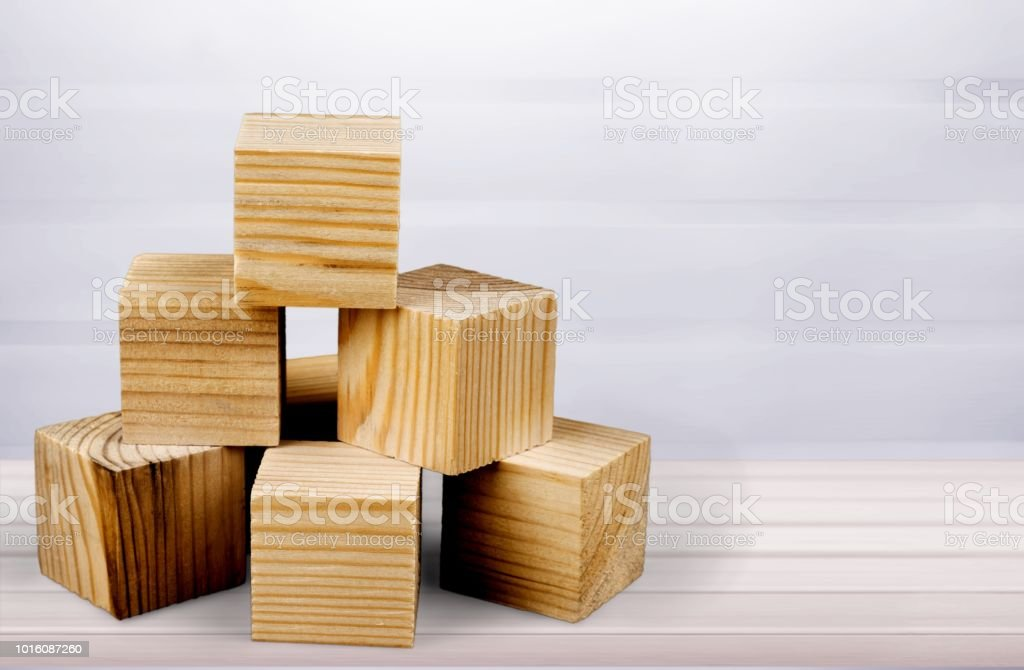 Block. stock photo