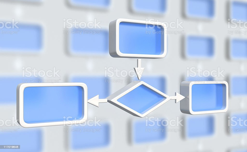 block scheme royalty-free stock photo