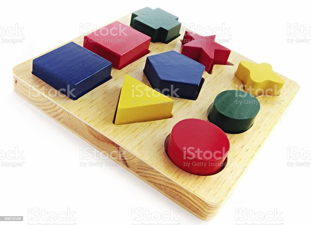 Block Shapes royalty-free stock photo