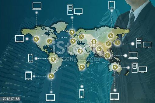 istock Blockchain concept 701217186