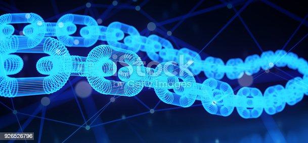 istock Blockchain Cryptography Concept 926526796
