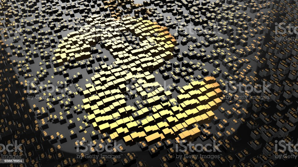 Blockchain encryption for crypto currencies bitcoin financial money records stock photo