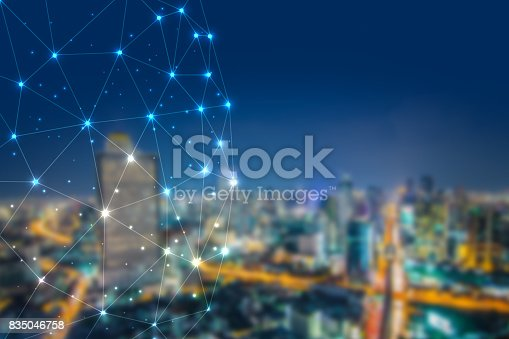 istock Blockchain network cryptocurrencies concept, is an incorruptible digital ledger of economic transactions 835046758