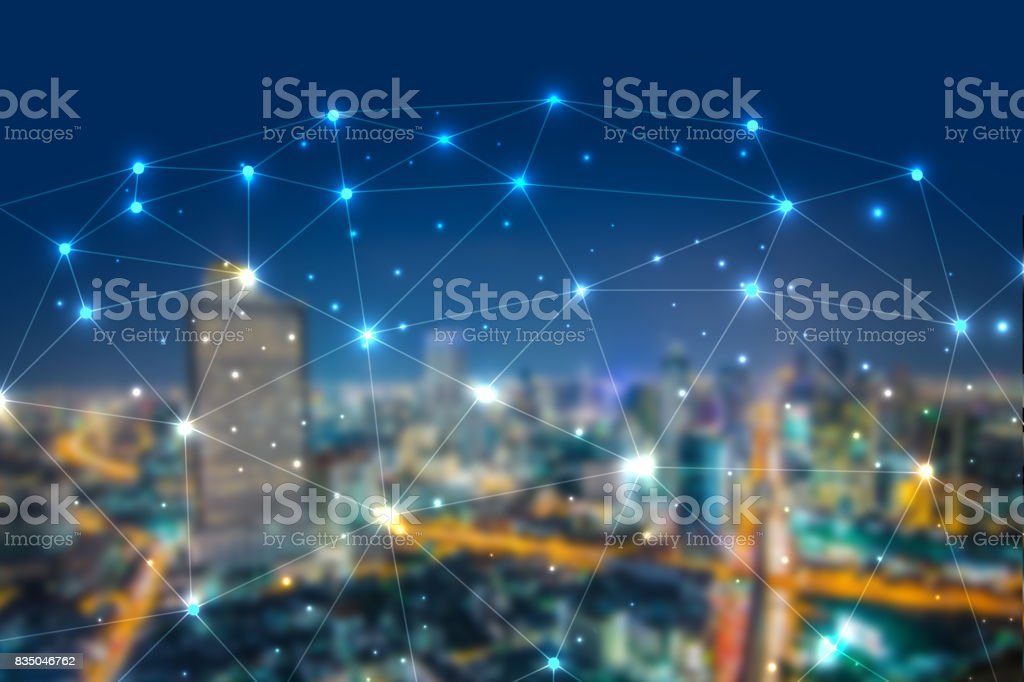 Blockchain network cryptocurrencies concept, is an incorruptible digital ledger of economic transactions stock photo