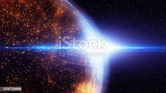 istock Blockchain network 1026735666